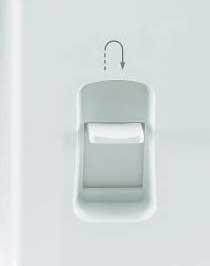 machine à coudre SINGER Promise 1408 détail du bouton de changement de sens de couture