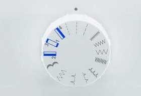 machine à coudre Promise 1408 détail du bouton de sélection du point de couture